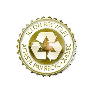 EPP Métal certification Recyc-Québec