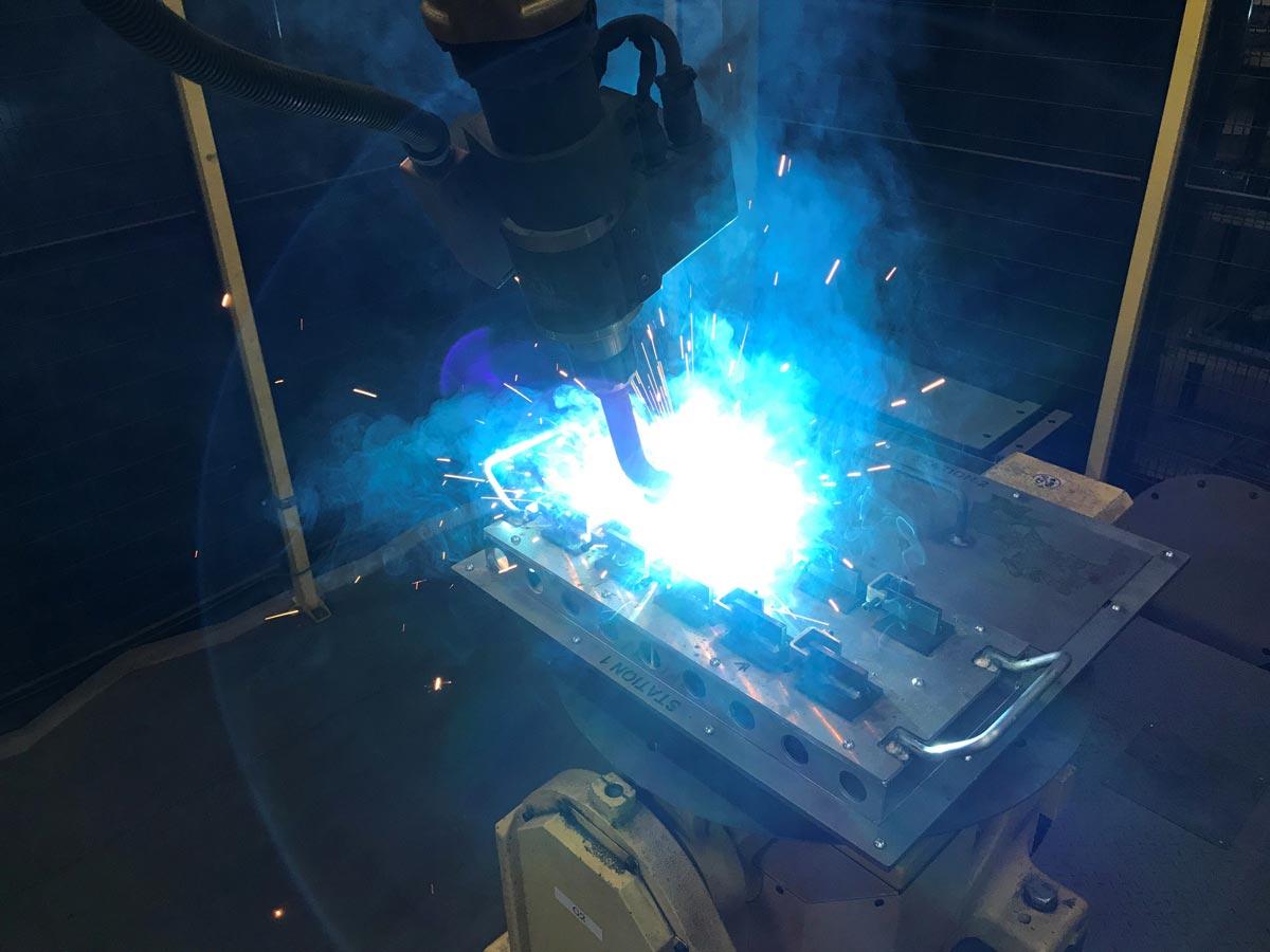 epp métal soudage robotisé