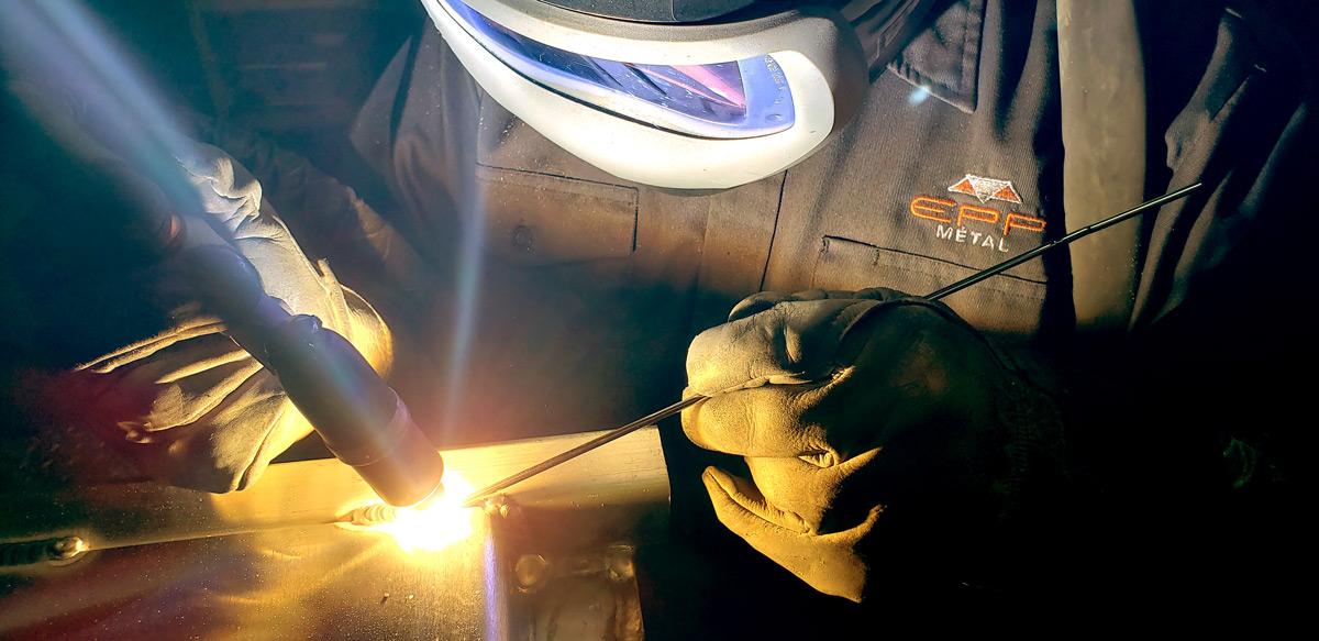 EPP Métal soudage sur aluminium