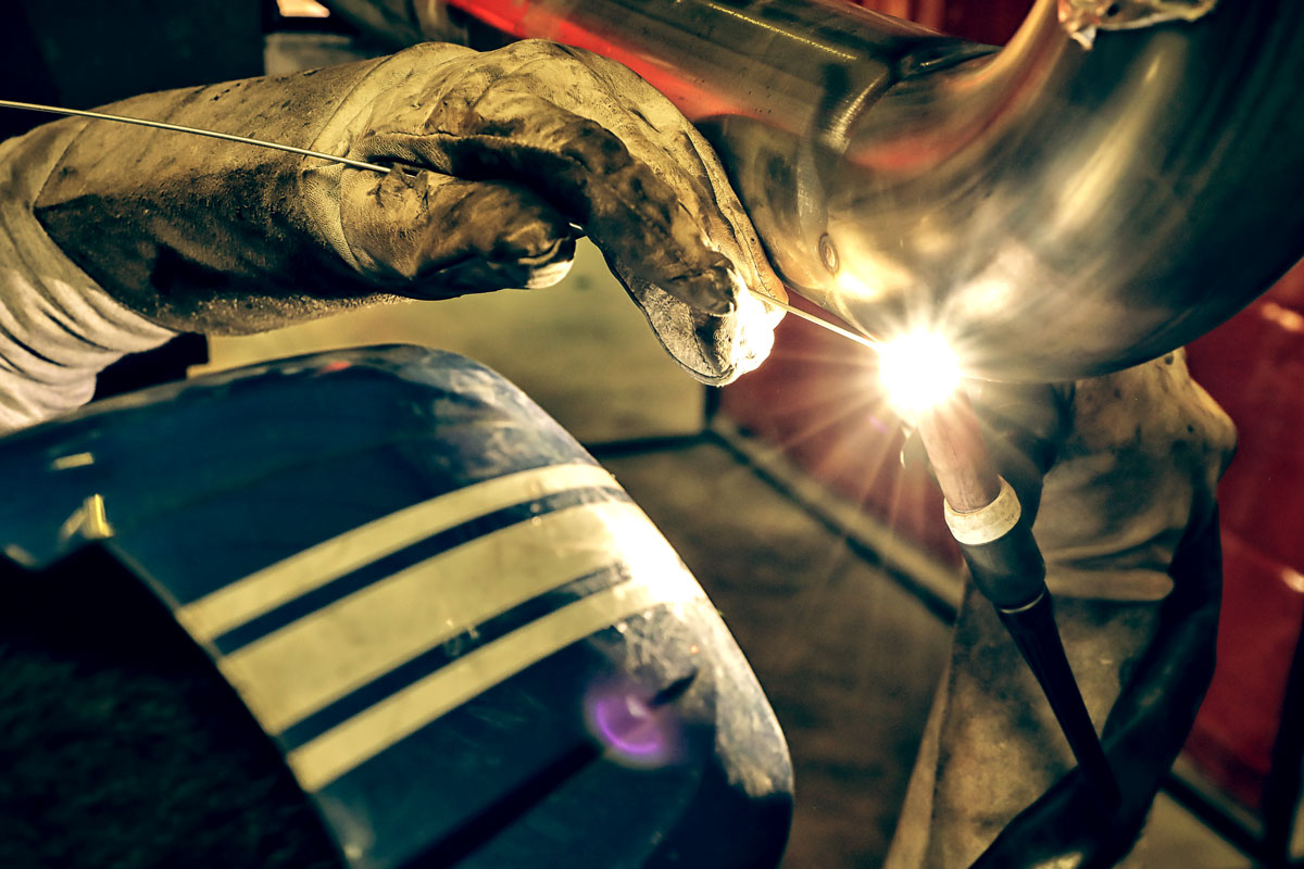 EPP Métal soudage sur acier inoxydable